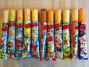 1 Pack (30 Sticks) Umaibo Choose The Type Corn Puffs Snack Sticks Japan