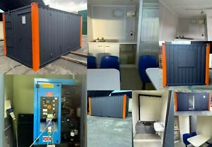 16ft x 9ft WELFARE UNIT WITH GENERATOR - Transport Arranged - Ex Salford