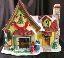 """Excellent Condition! """"Santa's Work Shop"""" Thomas Pacconi Musical Lighted"""