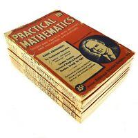 14 Practical Mathematics Reginald Stevens Kimball Volumes Vintage Math Workbook