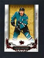 2018-19 UD Upper Deck Artifacts Ruby Stars #130 Logan Couture /349