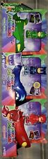 PJ Masks Gekko-Mobile Cat-Car Owl Glider 3-Pack New HTF