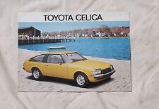 Toyota Celica LT Original Australian Colour Sales Brochure