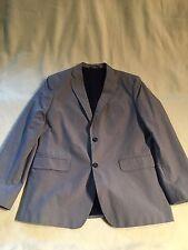 Men's Banana Republic 44R Blue Sport Coat/Blazer/Suit Jacket Tailored Fit.  D38