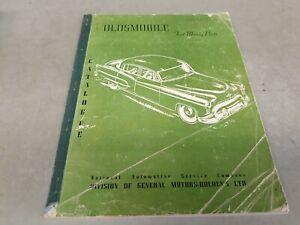 1926 - 1950 OLDSMOBILE GMH Australia FAST MOVING PARTS Catalogue   RARE