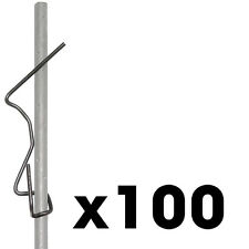 """100 box 2x4"""" Wire Screed Hooks Concrete Forms Screed Post slab curb patio inch"""