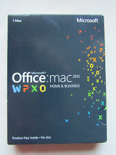 MICROSOFT Office per Mac 2011 Home and Business Word EXCEL Outlook W6F-00063 DVD