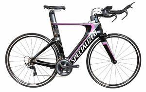 2015 Specialized Shiv Expert 2 x 11s Carbon Triathlon Bike MEDIUM Stages Power