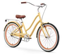 sixthreezero EVRYjourney 1 Speed Hybrid Touring Cruiser Bike Women's Cream NEW