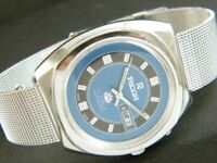 VINTAGE RICOH R31 AUTOMATIC JAPAN MEN'S DAY/DATE WATCH 398a-a198244-3