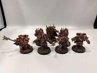 Warhammer 40k Chaos Space Marine Lord Kranon And Chosen - Dark Vengeance