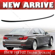 SHIP FROM LA- M3 Style Trunk Lip Spoiler For BMW 7-Ser F01 F02 Unpaint 15 4DR