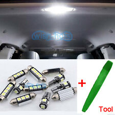 Xenon White Interior Car LED Light Bulbs Kit For VW POLO V 6R 2009-2014 + Tool