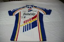 Jersey Official Vintage of The Kit Banesto Brand Nalini Size 12 Of Boy Scarce