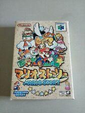 Mario Story paper mario NINTENDO 64 n64 jap NUS-NMQJ-JPN RARO