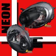 03 04 05 Dodge Neon SE SXT SRT4 SRT-4 Black Headlights Head Lamps 1 Pair
