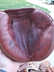 Vintage Nakona catchers baseball glove mitt