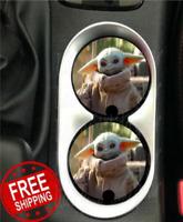 Baby Yoda 2 Disney Car Coasters Disney Inspired Car Coaster Cup Holders Disney