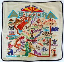 "Catstudio ARIZONA Hand Embroidered Pillow Case/Cover 20.5"" x 20.5"" >NEW<"