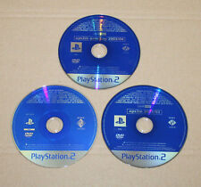 3 x PS 2 oficial revista demo & Video & extra's etc DVD