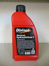 Divinol Zyntralhydraulikfluid S Servo Öl Lenkung synthetisch Zentralhydraulik 1L