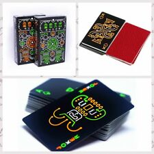 Luminous Glow In The Dark Poker Fluorescent Playing Cards Noctilucent Table Game