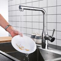 Design Schwenkbare Spültisch Wasserhahn Küchenarmatur Einhandmischer  360° Chrom