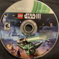 LEGO Star Wars III The Clone Wars Microsoft Xbox 360 Game **DISC ONLY** Tested