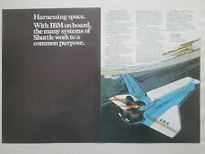 11/1977 PUB IBM SPACE SHUTTLE ADVANCED SYSTEM /4 PI MODEL AP-101 COMPUTER AD