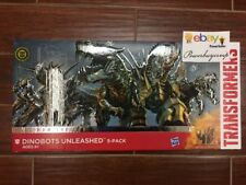 NEW Transformers Age of Extinction Platinum Edition Dinobots Unleashed 5 Pack