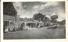 1940's The Pigeon River Cabins in Pigeon Forge, TN Tennessee PC