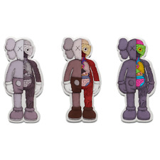 KAWS Magnet Companion Flayed Set of 3 NGV Exclusive 2019 Rare Dead Stock Gone