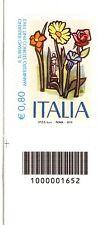 ITALIA REPUBBLICA: 2015 ENIT, CODICE A BARRE, MOLTO RARO