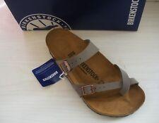 Birkenstock Women's Mayari Sandal Stone Birkibuc 40 71071
