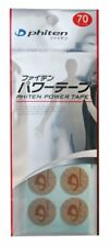 JAPAN PHITEN POWER TAPE/PATCHES 70 MARK TITANIUM BEAUTY&HEALTH CARE F/S E