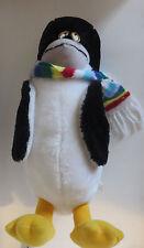 "Seaworld 18"" Plush Penguin Stuffed Animal Doll W/ Scarf 1982"