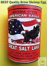 Artemia Cysts Brine Shrimp Egg Fresh 450 g USA American Eagle Great Salt Lake
