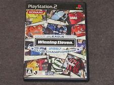 Winning Eleven 2007 J League Club Chamionship PS2 NTSC-J Complete Japan Import