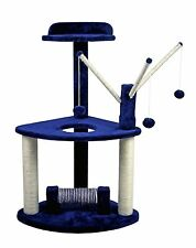 """HIDING Cat Tree™ 37"""" Play House Condo Furniture Bed Tower Scratch Post Pole"""