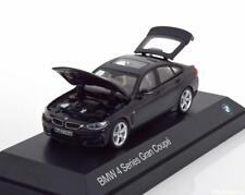 Original BMW 4er Gran Coupé F36 Maquette de Voiture Miniature 1 43 Noir Carbone