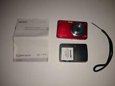 Sony Cyber-shot DSC-W560 Carl Zeiss 14.1 Megapixels Red