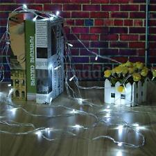 10M 100 LED Fairy String Light Outdoor Wedding Party Xmas Decor Lamp Waterproof