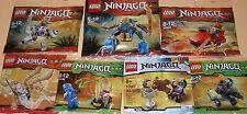 7x Lego Ninjago! 2x Jay , Kai , Zane , Cole , Dareth und Anacondrai Krieger OVP