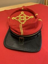 Reproduction Confederate Artillery Officer's Kepi Forage Cap Us Civil War Csa Cs