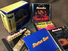 STATUS QUO Great Box JAPAN-ONLY 4CD BOX PHCR-3129~32 w/OBI+BOOKLET Tokyo Quo