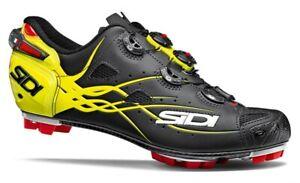 Sidi Tiger MTB Carbon Cycling Shoes Black/Yellow