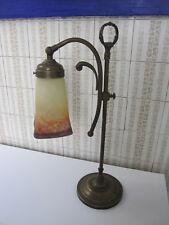 ART DECO,Jugendstil, lamp, lampe,lampe Tulipe signée Müller Fres Luneville