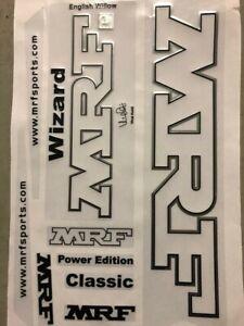 3D MRF Embossed Cricket Bat Sticker+ AU Stock + Free Shipping