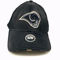 St. Louis Rams NFL Team Apparel Nylon Baseball Hat/Cap Brand New Sz S/M NWT New