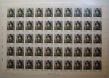 Italia 1993 Carlo Goldoni  500 lire   Foglio Intero   MNH**